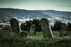 Παλαιές ταφόπετρες Στοκ Φωτογραφία
