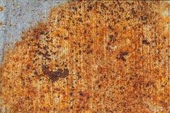 Παλαιές υπόβαθρο και σύσταση σκουριάς σιδήρου μετάλλων Στοκ φωτογραφία με δικαίωμα ελεύθερης χρήσης
