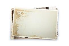 Παλαιές φωτογραφίες Στοκ Φωτογραφίες
