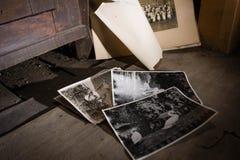 παλαιές φωτογραφίες Στοκ εικόνες με δικαίωμα ελεύθερης χρήσης