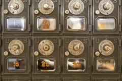 Παλαιές χρονικές κλειδαριές Στοκ φωτογραφία με δικαίωμα ελεύθερης χρήσης