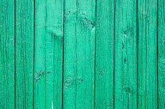 Παλαιές Shabby ξύλινες σανίδες με το ραγισμένο χρώμα χρώματος Στοκ εικόνες με δικαίωμα ελεύθερης χρήσης