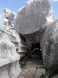 παλαιοί βράχοι Στοκ Φωτογραφίες