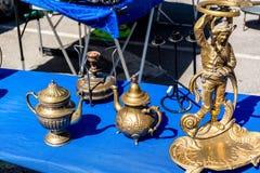 Παλαιοί θησαυροί της αγοράς της Πορτογαλίας Στοκ φωτογραφίες με δικαίωμα ελεύθερης χρήσης