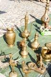 Παλαιοί θησαυροί της αγοράς της Πορτογαλίας Στοκ εικόνα με δικαίωμα ελεύθερης χρήσης