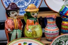 Παλαιοί θησαυροί της αγοράς της Πορτογαλίας Στοκ φωτογραφία με δικαίωμα ελεύθερης χρήσης