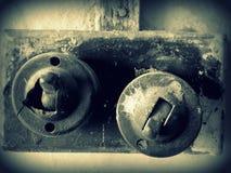 Παλαιοί διακόπτες Στοκ Φωτογραφίες