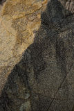 Παλαιοί κίτρινοι βράχοι Στοκ φωτογραφία με δικαίωμα ελεύθερης χρήσης