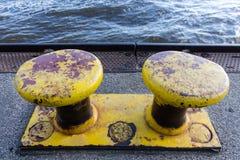 Παλαιοί κίτρινοι στυλίσκοι Στοκ Εικόνες