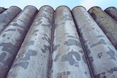 Παλαιοί σωλήνες εργοστασίων Στοκ φωτογραφίες με δικαίωμα ελεύθερης χρήσης