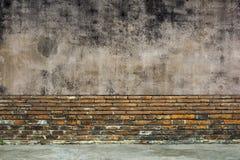 Παλαιοί τοίχοι για το υπόβαθρο Στοκ εικόνα με δικαίωμα ελεύθερης χρήσης