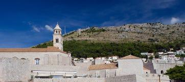 Παλαιοί τοίχοι πόλεων Dubrovnik Στοκ εικόνα με δικαίωμα ελεύθερης χρήσης
