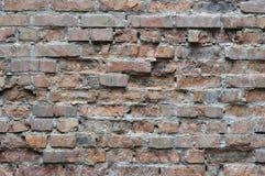 παλαιοί τοίχοι τούβλου Στοκ Εικόνα
