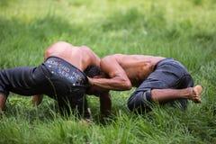 Παλαιστής στο φεστιβάλ πάλης Kirkpinar Στοκ Φωτογραφίες