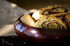 Παλαιστινιακό μπισκότο με τις ημερομηνίες αποκαλούμενες makrota Στοκ Εικόνες