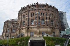 Παλαιός έγινε νέος: Πόλη Βιέννη γκαζομέτρων Στοκ φωτογραφίες με δικαίωμα ελεύθερης χρήσης