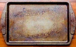 Παλαιός δίσκος ψησίματος φούρνων Στοκ φωτογραφία με δικαίωμα ελεύθερης χρήσης