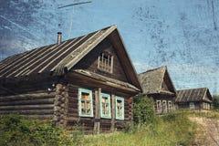 παλαιός αγροτικός σπιτιώ&nu Στοκ εικόνα με δικαίωμα ελεύθερης χρήσης