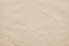 Παλαιός ανακύκλωσης από την τσαλακωμένη σύσταση Grunge της Λευκής Βίβλου Στοκ φωτογραφία με δικαίωμα ελεύθερης χρήσης