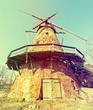 Παλαιός ανεμόμυλος κοντά σε Elgava, Λετονία, Ευρώπη Στοκ Φωτογραφία