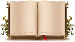 παλαιός ανοικτός βιβλίων Στοκ Εικόνα