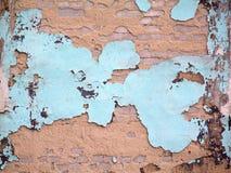Παλαιός αποσυντέθηκε χρώμα τοίχων Στοκ Φωτογραφίες