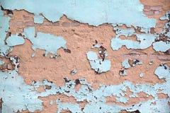Παλαιός αποσυντέθηκε χρώμα τοίχων Στοκ εικόνα με δικαίωμα ελεύθερης χρήσης