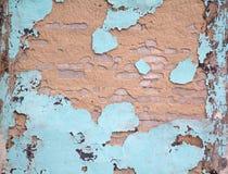 Παλαιός αποσυντέθηκε χρώμα τοίχων Στοκ εικόνες με δικαίωμα ελεύθερης χρήσης