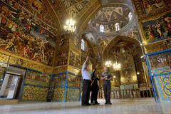 Παλαιός αρμενικός καθεδρικός ναός Vank, Ιράν Στοκ Εικόνες
