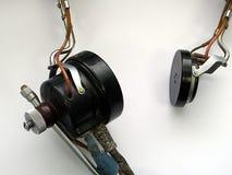 Παλαιός αυθεντικός ακουστικός εξοπλισμός Στοκ εικόνες με δικαίωμα ελεύθερης χρήσης