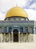 παλαιός βράχος της Ιερουσαλήμ θόλων sity Το πιό γνωστό μουσουλμανικό τέμενος στην Ιερουσαλήμ Στοκ Φωτογραφία