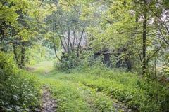 Παλαιός βρώμικος δρόμος στοκ φωτογραφία με δικαίωμα ελεύθερης χρήσης