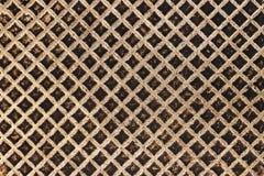 Παλαιός βρώμικος σίδηρος που τηγανίζει την παν σύσταση επιφάνειας Στοκ Φωτογραφίες