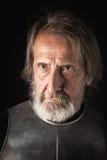 Παλαιός γενειοφόρος πολεμιστής Serius Στοκ εικόνες με δικαίωμα ελεύθερης χρήσης