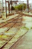 Παλαιός εγκαταλειμμένος σιδηροδρομικός σταθμός Στοκ Φωτογραφία