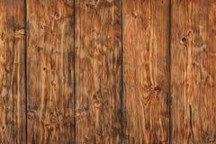 Παλαιός δεμένος ξεπερασμένος φράκτης σανίδων πεύκων - λεπτομέρεια Στοκ Φωτογραφία