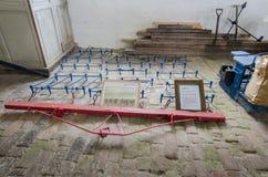 Παλαιός εξοπλισμός καλλιέργειας - βωλοκόπος Στοκ εικόνα με δικαίωμα ελεύθερης χρήσης