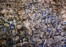 Παλαιός επικονιασμένος τοίχος τσιμέντου για τη σύσταση υποβάθρου Στοκ Φωτογραφίες