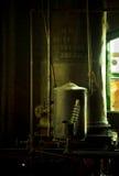 Παλαιός θερμοσίφωνας στοκ φωτογραφίες