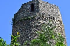 Παλαιός ιστορικός πύργος Czchow Πολωνία Στοκ Φωτογραφία