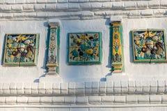 Παλαιός καθεδρικός ναός υπόθεσης κεραμιδιών Στοκ Φωτογραφία