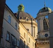 Παλαιός καθεδρικός ναός Στοκ Εικόνες
