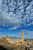 Παλαιός καθεδρικός ναός Lleida, γνωστός ως ` Seu Vella ` στοκ εικόνες με δικαίωμα ελεύθερης χρήσης
