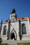 Παλαιός και γραφικός καθεδρικός ναός Visby Στοκ Εικόνες