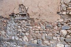Παλαιός και εγκαταλειμμένος τοίχος στοκ εικόνες με δικαίωμα ελεύθερης χρήσης