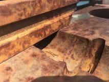 Παλαιός και σκουριασμένος Στοκ Φωτογραφία