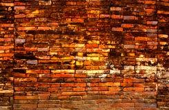 Παλαιός και τούβλινος τοίχος Στοκ Εικόνες