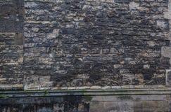Παλαιός κατασκευασμένος τοίχος φραγμών τούβλου πετρών κάστρων στοκ φωτογραφίες με δικαίωμα ελεύθερης χρήσης