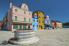 Παλαιός καλά και reisdential στη Βενετία, Ιταλία Στοκ φωτογραφία με δικαίωμα ελεύθερης χρήσης