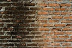 παλαιός κόκκινος τοίχος σύστασης λεπτομέρειας τούβλου ανασκόπησης αρχιτεκτονικής Στοκ εικόνες με δικαίωμα ελεύθερης χρήσης